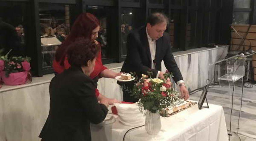 Η ΔΥΝΑΜΗ ΕΛΠΙΔΑΣ ΒΥΡΩΝΑ έκοψε την πρωτοχρονιάτικη πίτα της